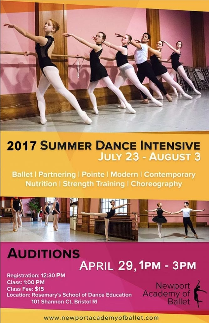 Summer Intensive Ad Poster