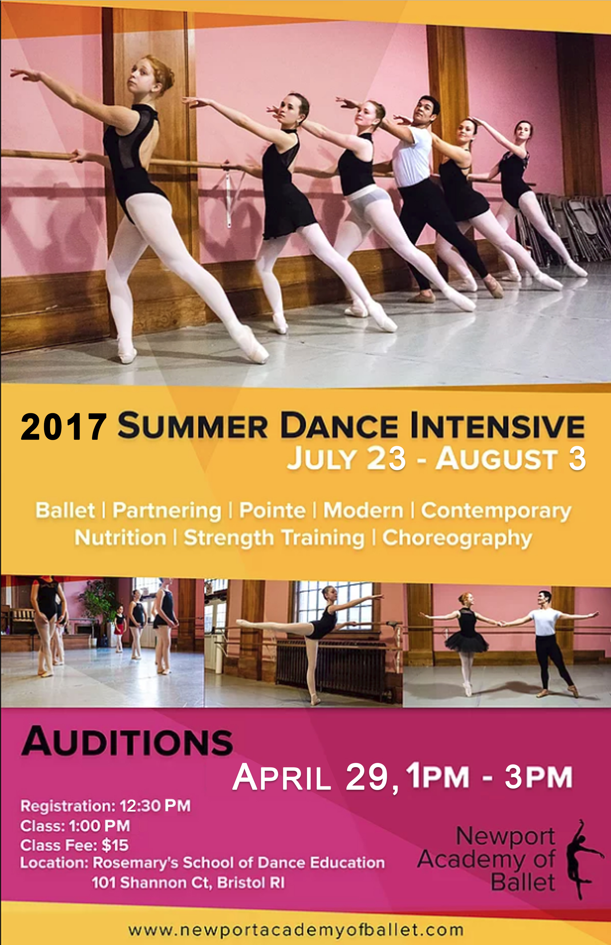 Sab Summer Intensive Auditions 2019